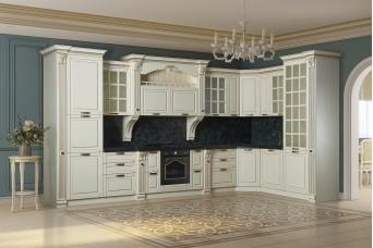 Кухня модульная Камелия 3,45*1,5 (угловая)