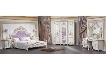 Венеция Classic (1,8, шкаф 6-ств. крем)