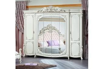 Венеция Style (1,8, шкаф 6-ств. крем)